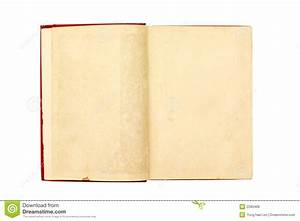 Blank Pages Of A Old Book Royalty Free Stock Photos ...