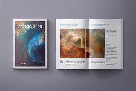 Free a4 magazine title mockup psd. Free A4 Magazine Mockup PSD - Good Mockups