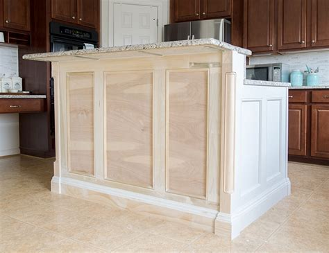 how to build a kitchen island bar building a kitchen island our diy renovation 9292