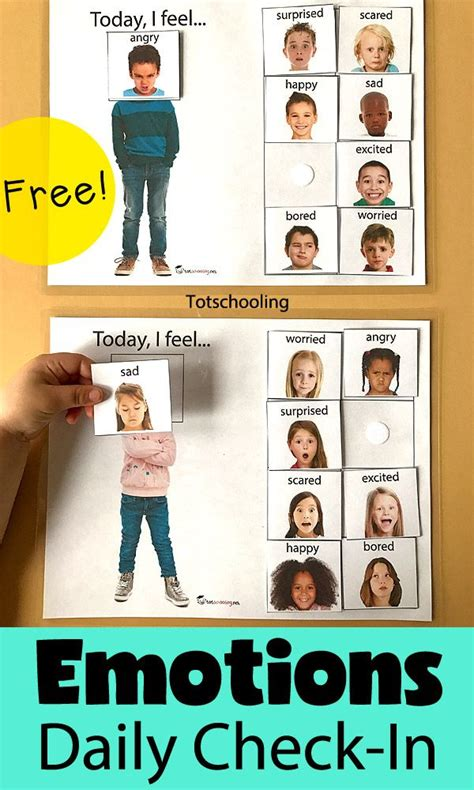today i feel daily emotions activity free printable 764 | 1e034450eb2a9c383378043e62bdd504