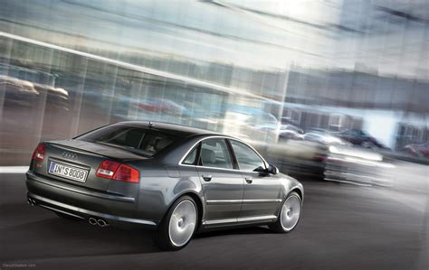 Audi S8 2005 Widescreen Exotic Car Wallpapers 008 Of 66