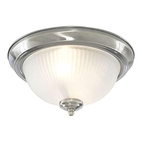 chrome 2 l bathroom ceiling light with opaque ribbed
