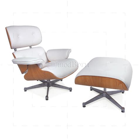 leather lounge chair with ottoman eames style lounge chair and ottoman white leather ash