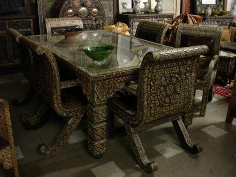 unique dining room set unique camel bone furniture