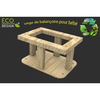 siège bébé pour balançoire fabrication d 39 un siège de balançoire pour bébé en bois eco