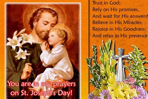 saint josephs day cards  saint josephs day wishes