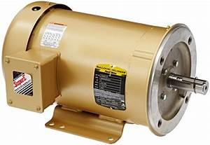 Baldor L3504 General Purpose Ac Motor  Single Phase  56