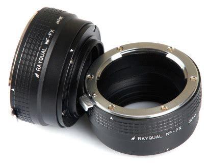rayqual nikon f lens adapter to fuji series