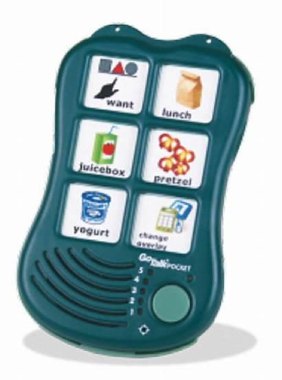 Pocket Communication Gotalk Device Assistive Tech Speech