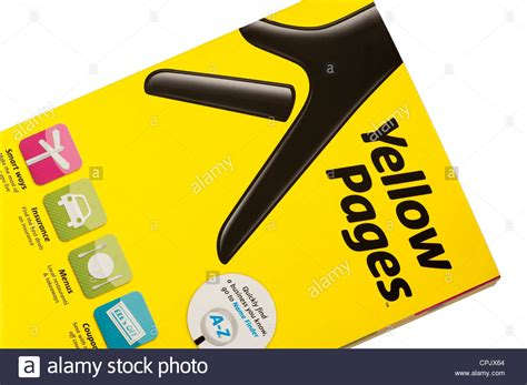 white pages phone directory yellow pages phone book stock photo royalty free image