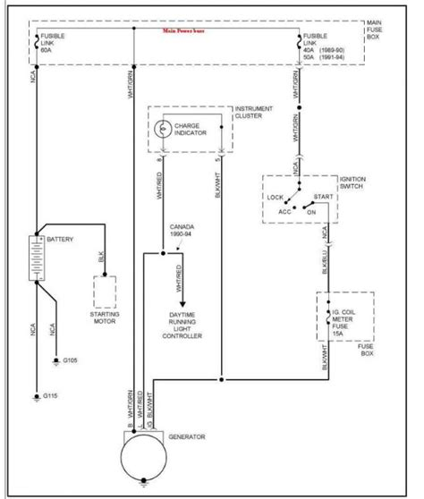 suzuki alternator wiring diagram grand vitara alternator installed in 95 tracker pirate4x4 com 4x4 and off road