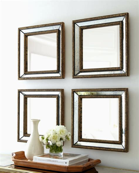 mirror sets wall decor clever design ideas wall mirror set dubois small square