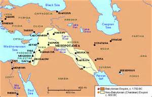 Chaldean Babylonian Empire Map