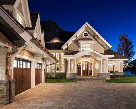 shingle style lakeside cottage mansion idesignarch