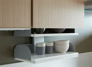 cuisine adaptee pmr avec modulhome With hauteur meuble haut cuisine