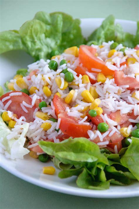 cuisiner a la plancha salade de riz les petits plats de gwendoline