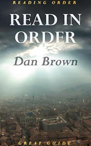 read  order  brown robert langdon series da vinci