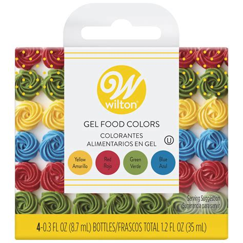 wilton gel mccormick coloring 1oz colors primary yellow target primarios comestibles colores dye peppermint extract