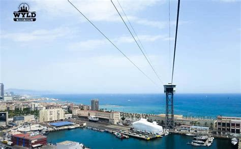 high   barcelona port cable car wyld family