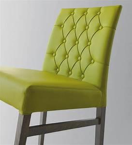 Chaise Capitonnée Grise : chaise de salle manger en bois vente en ligne italy dream design ~ Teatrodelosmanantiales.com Idées de Décoration