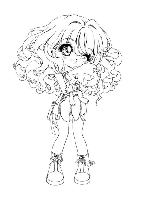 cute  anime girls coloring pages barbie coloring pages chibi coloring pages cute