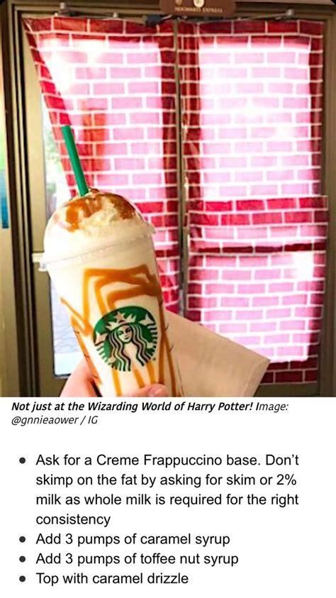 64,355 likes · 54 talking about this. Butterbeer frappe | Starbucks coffee drinks, Starbucks drinks recipes, Starbucks secret menu drinks