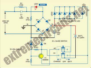 High Intensity Energy Efficient Led Light Circuit Diagram