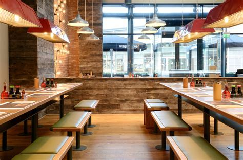 Wagamama (Swindon): Focus Design   Restaurant & Bar Design