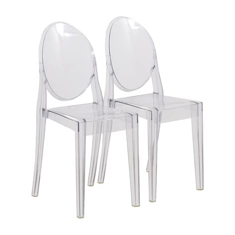 chaise starck kartell chaise ghost starck philippe stark