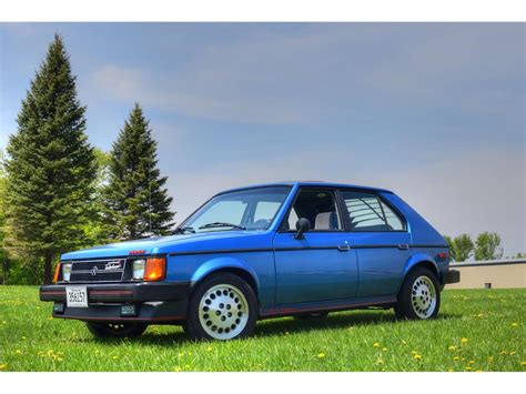 Omni For Sale by 1986 Dodge Omni For Sale Classiccars Cc 1094390