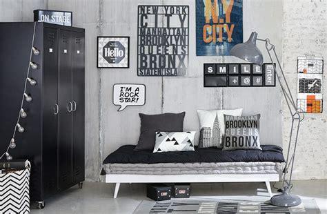 chaise de bureau style industriel idée déco chambre garçon deco clem around the corner