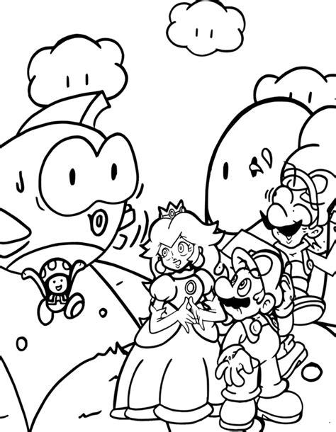 nintendo coloring pages coloring pages for free