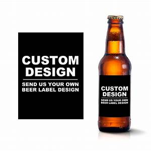 Custom beer bottle labels create your own beer label design for Design your own beer label