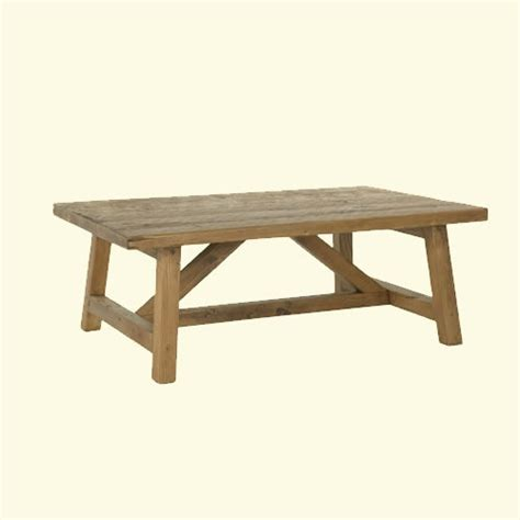 ct 101 reclaimed wood harvest coffee table our