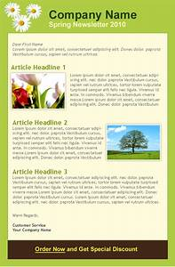 Scenery spring pictures spring newsletter quotes for Spring newsletter template