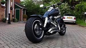 2013 Harley-Davidson Dyna Fat Bob Dark Custom - Moto ...