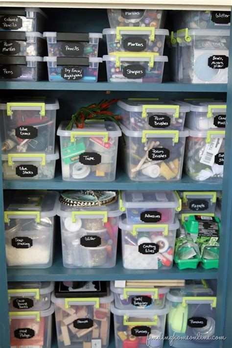 tips  organizing craft supplies finding home farms