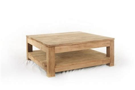 table basse carree teck table basse teck authentic carr 233 e