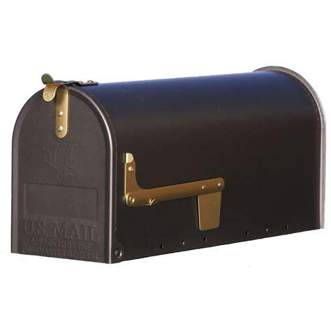 gibraltar mailboxes madison steel post mount mailbox