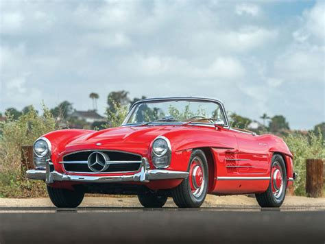 mercedes benz sl roadster  auctions americas