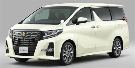 Toyota Alphard by Toyota Alphard Type Black And Vellfire Golden