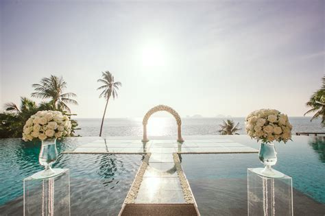 Over The Water Wedding Is A Wedding In Thailand Bliss