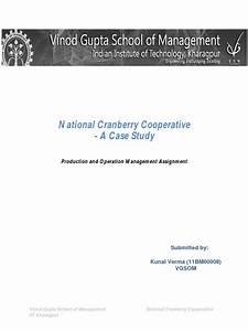 11bm60008 Sec B National Cranberry Cooperative