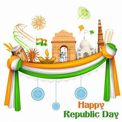 Republic India Happy Background Vector Celebration Clip