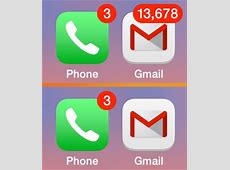 Hide the Unread eMail Number on Mail Icons for iPhone & iPad