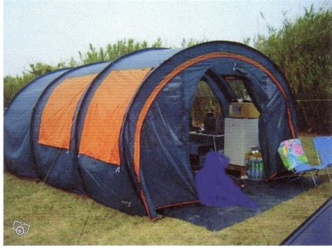 tente tunnel 3 chambres troc echange toile de tente tunnel 6 places sur