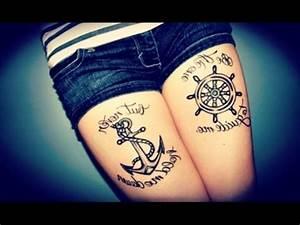 TATTOOS TUMBLR - Tattoo Ideas For Girls - YouTube