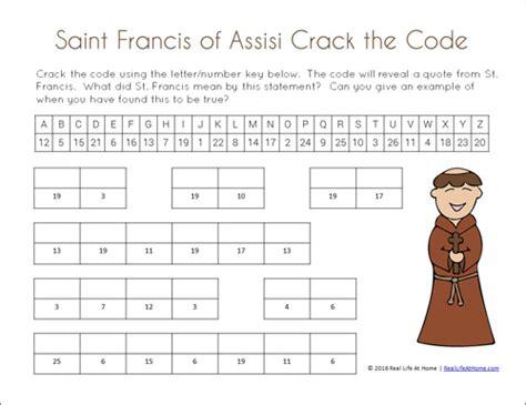 saint francis  assisi printables packet