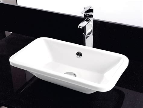 RAK Chameleon 560mm No Tap Hole Wash Basin