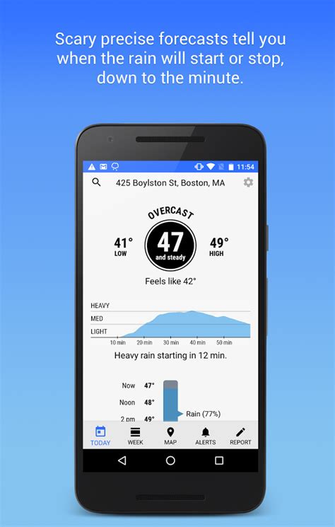 sky weather app for android hyperlocal weather app sky now available on android